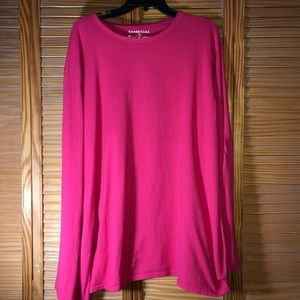 Just My Size JMS Essential Long Sleeve Tee